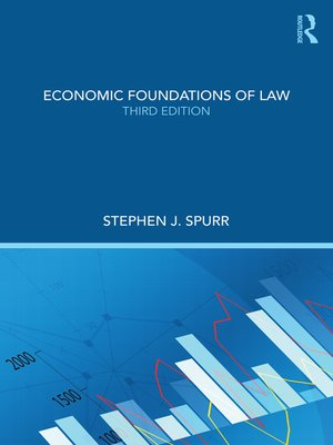 cover image of Economic Foundations of Law