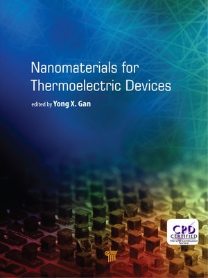 cover image of Nanomaterials for Thermoelectric Devices