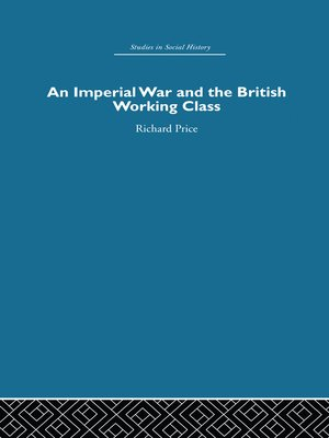 cover image of An Imperial War and the British Working Class