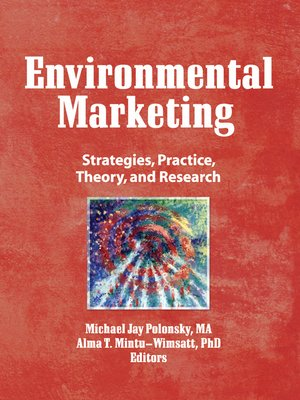 cover image of Environmental Marketing
