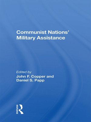 cover image of Communist Nations' Military Assistance