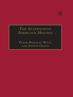 cover image of The Alternative Sherlock Holmes