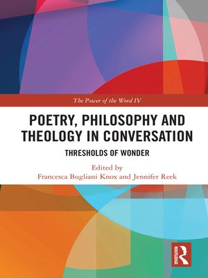 cover image of Poetry, Philosophy and Theology in Conversation