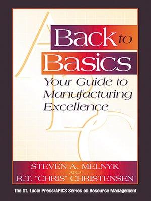 cover image of Back to Basics