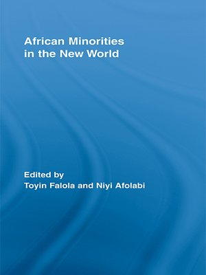 cover image of African Minorities in the New World
