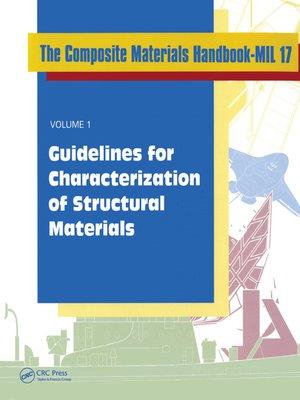 cover image of Composite Materials Handbook-MIL 17, Volume I