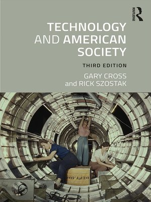 cover image of Technology and American Society
