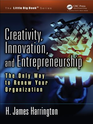 cover image of Creativity, Innovation, and Entrepreneurship