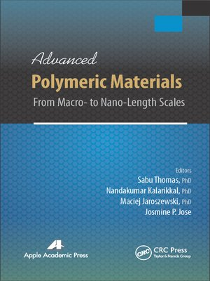 cover image of Advanced Polymeric Materials