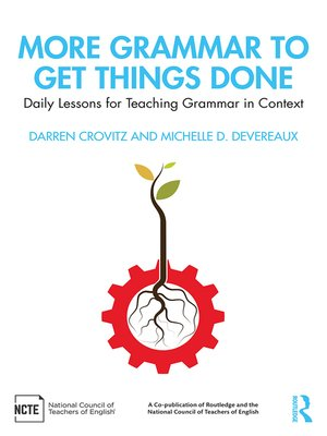 cover image of More Grammar to Get Things Done