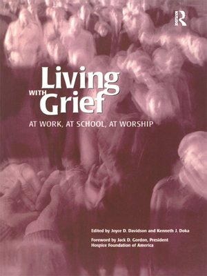 cover image of Living With Grief