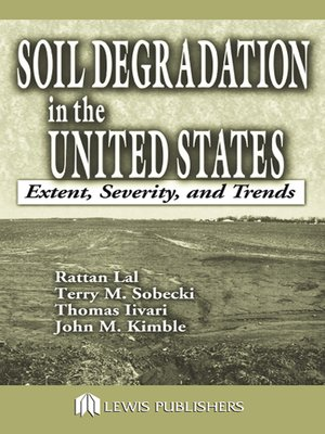 cover image of Soil Degradation in the United States