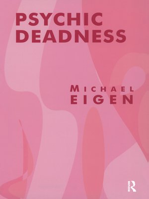 cover image of Psychic Deadness