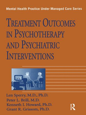 cover image of Treatment Outcomes In Psychotherapy and Psychiatric Interventions