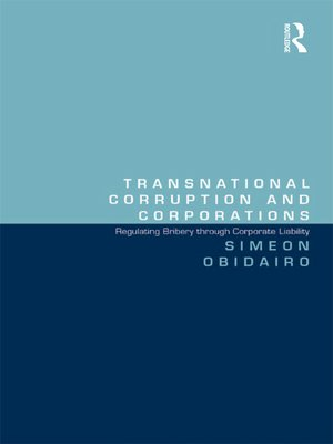 cover image of Transnational Corruption and Corporations