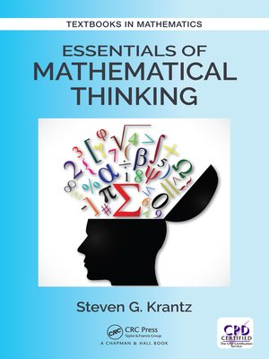 cover image of Essentials of Mathematical Thinking