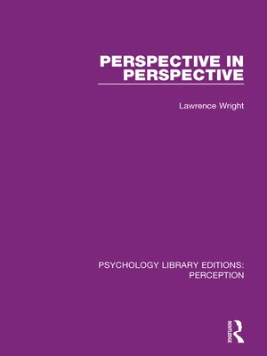 cover image of Perspective in Perspective