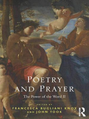 cover image of Poetry and Prayer