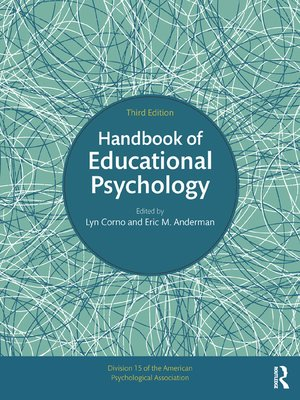 cover image of Handbook of Educational Psychology