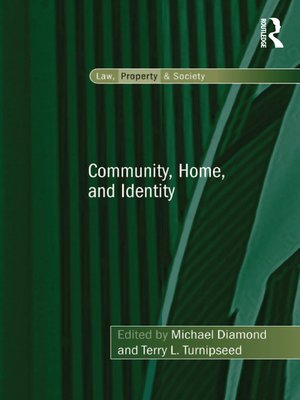 cover image of Community, Home, and Identity