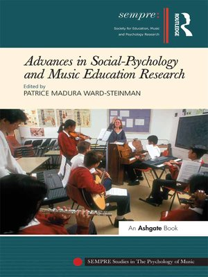 cover image of Advances in Social-Psychology and Music Education Research
