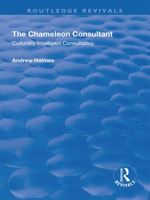 cover image of The Chameleon Consultant