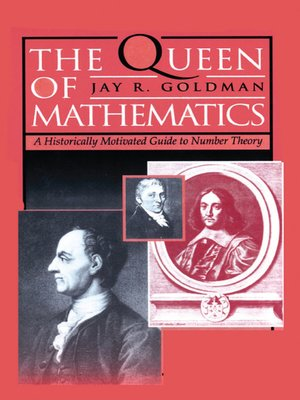 cover image of The Queen of Mathematics