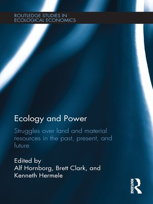 cover image of Ecology and Power