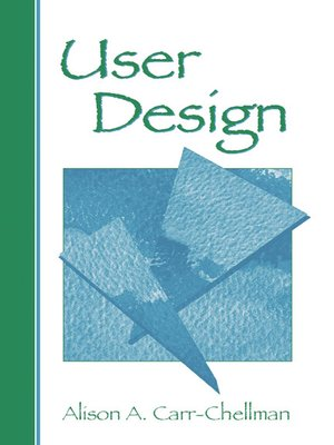 cover image of User Design