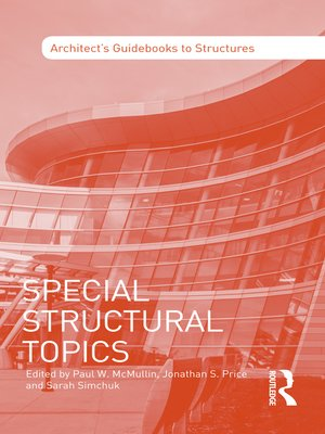 cover image of Special Structural Topics