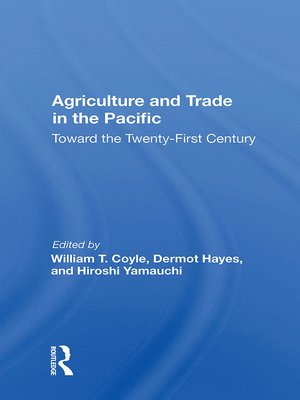 cover image of Agriculture and Trade In the Pacific
