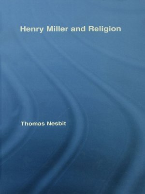 cover image of Henry Miller and Religion