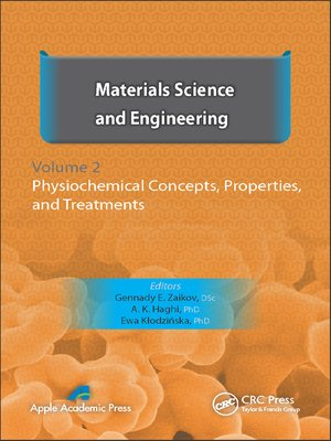 cover image of Materials Science and Engineering, Volume II