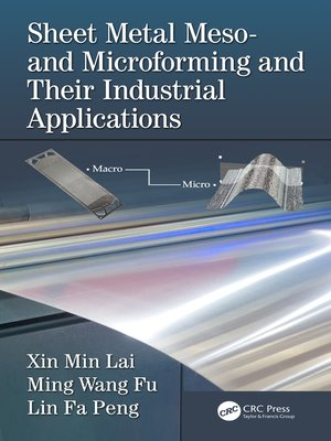 cover image of Sheet Metal Meso- and Microforming and Their Industrial Applications