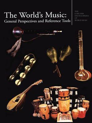 cover image of The Garland Encyclopedia of World Music