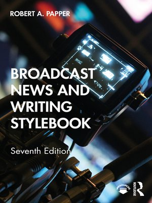cover image of Broadcast News and Writing Stylebook