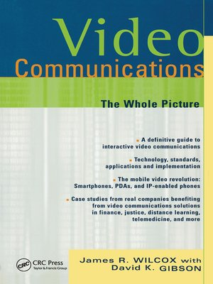 cover image of Video Communications