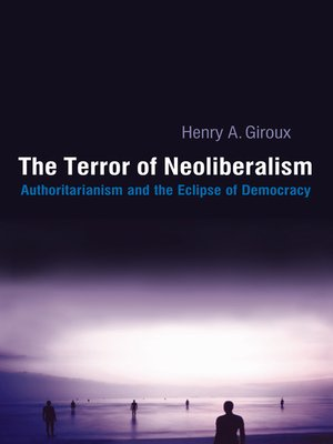 cover image of Terror of Neoliberalism