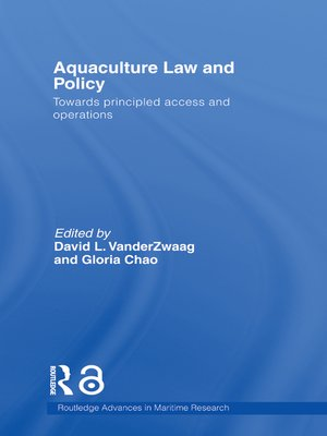 cover image of Aquaculture Law and Policy