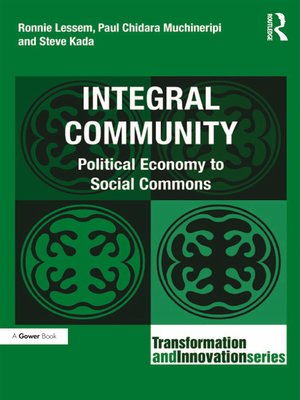 cover image of Integral Community