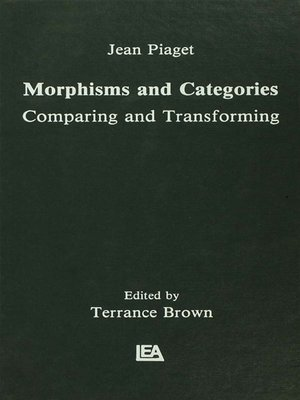 cover image of Morphisms and Categories