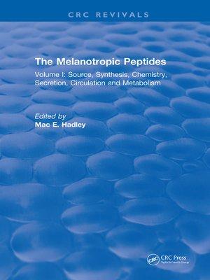 cover image of The Melanotropic Peptides