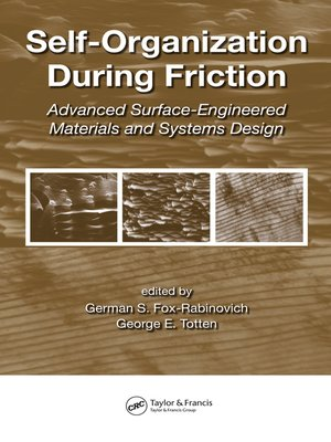 cover image of Self-Organization During Friction