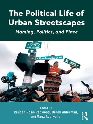 cover image of The Political Life of Urban Streetscapes