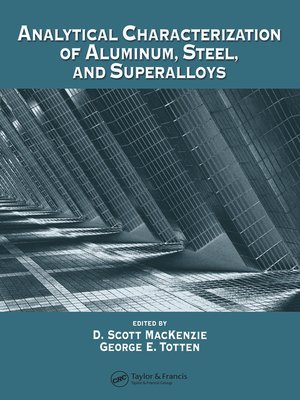cover image of Analytical Characterization of Aluminum, Steel, and Superalloys