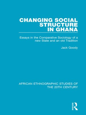 cover image of Changing Social Structure in Ghana