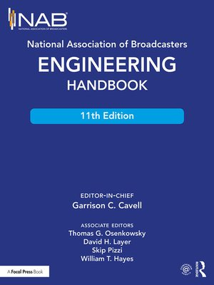 cover image of National Association of Broadcasters Engineering Handbook