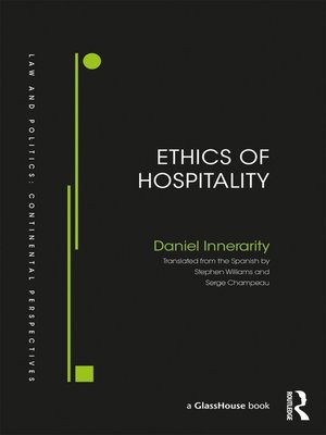 cover image of Ethics of Hospitality