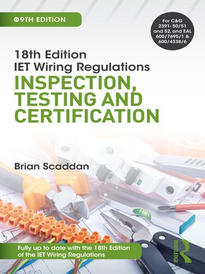 cover image of IET Wiring Regulations