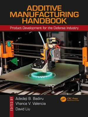 cover image of Additive Manufacturing Handbook